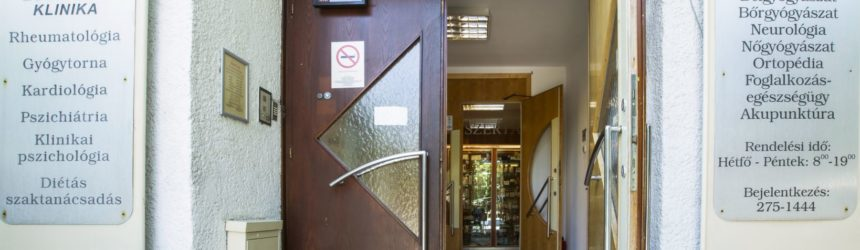 Lézersebészet bejárat